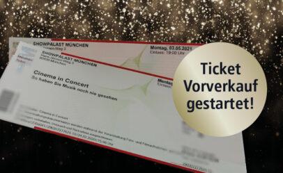Cinema in Concert 2021 Der Vorverkauf läuft